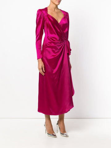Pink dress from attico