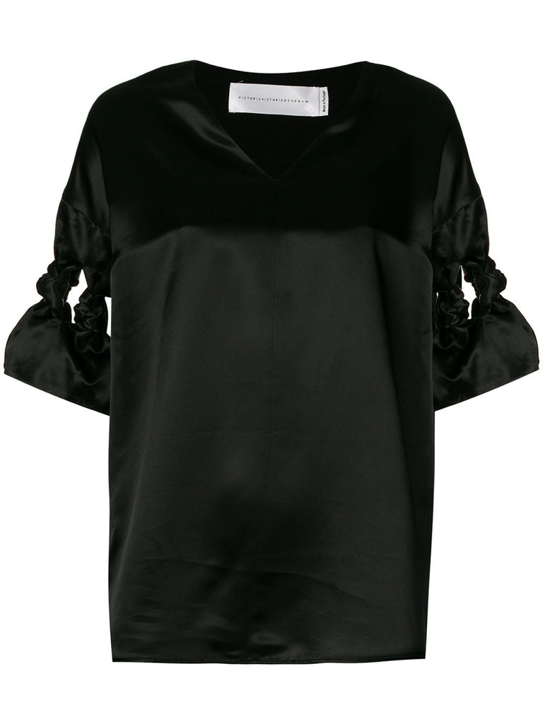 Black top from Victoria Beckham