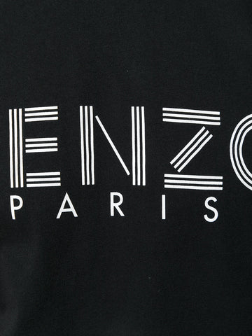 BLACK TSHIRT WITH LOGO FROM KENZO