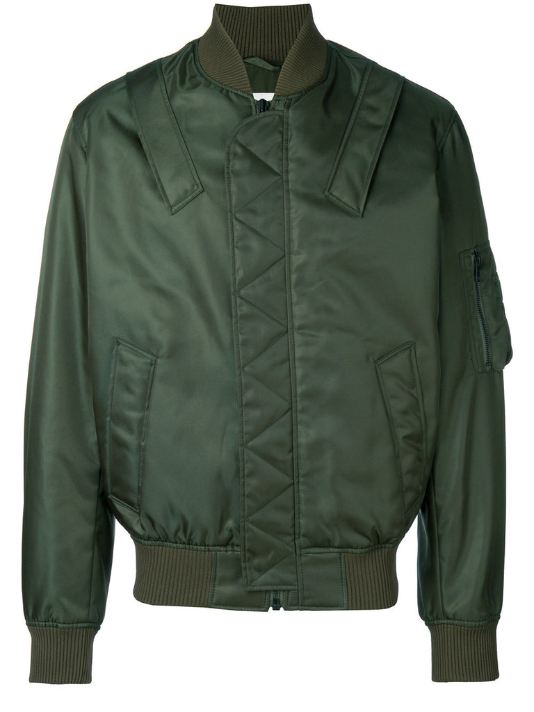 GREEN BOMBER JACKET FROM KENZO