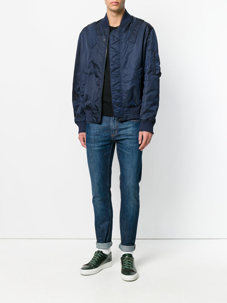 NAVY BLUE BOMBER JACKET FROM KENZO
