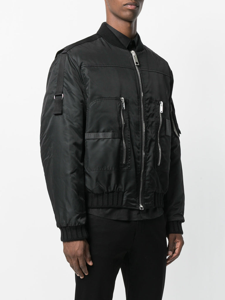 BLACK BOMBER JACKET FROM LES HOMMES