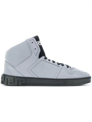 High top sneakers from Versace