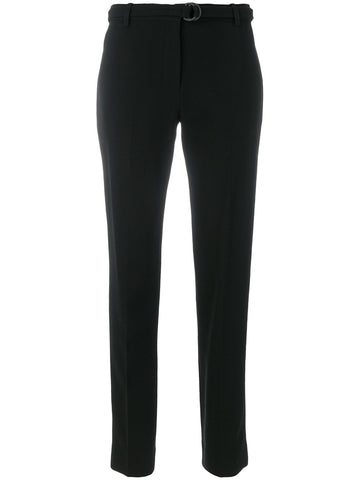 BLACK TAILORED BELT PANTS FROM VICTORIA VICTORIA BECKHAM