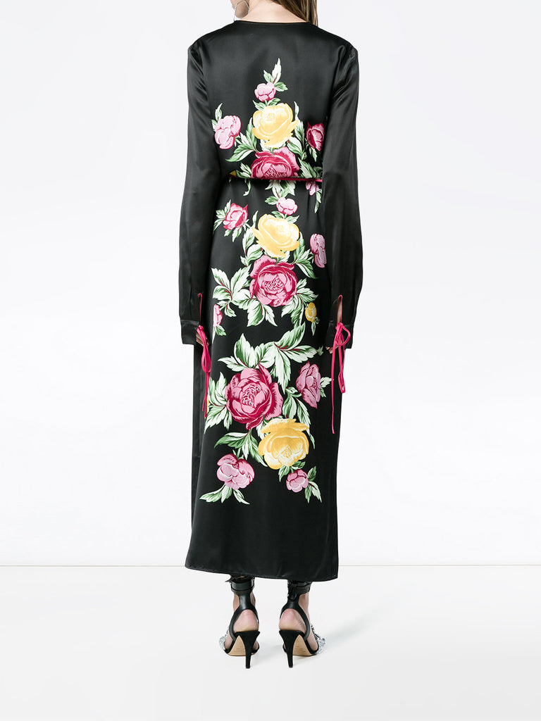 LONG FLOWER DRESS FROM ATTICO