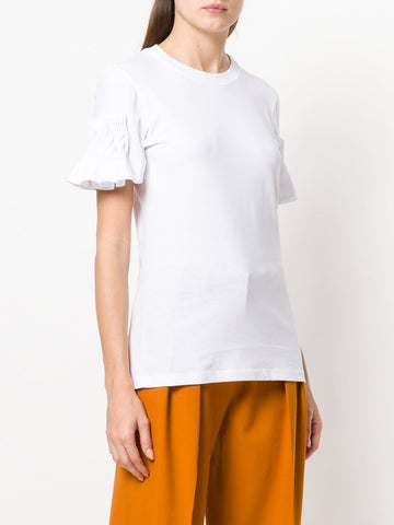 Victoria Beckham t-shirt with detail on sleeves