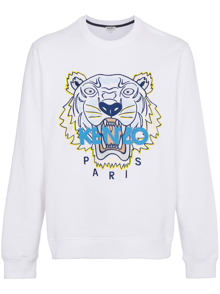 WHITE TIGER SWEATSHIRT FROM KENZO