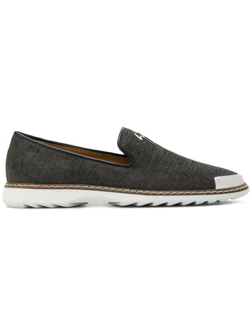 GREY CANVAS LOAFER FROM GIUSEPPE ZANOTTI