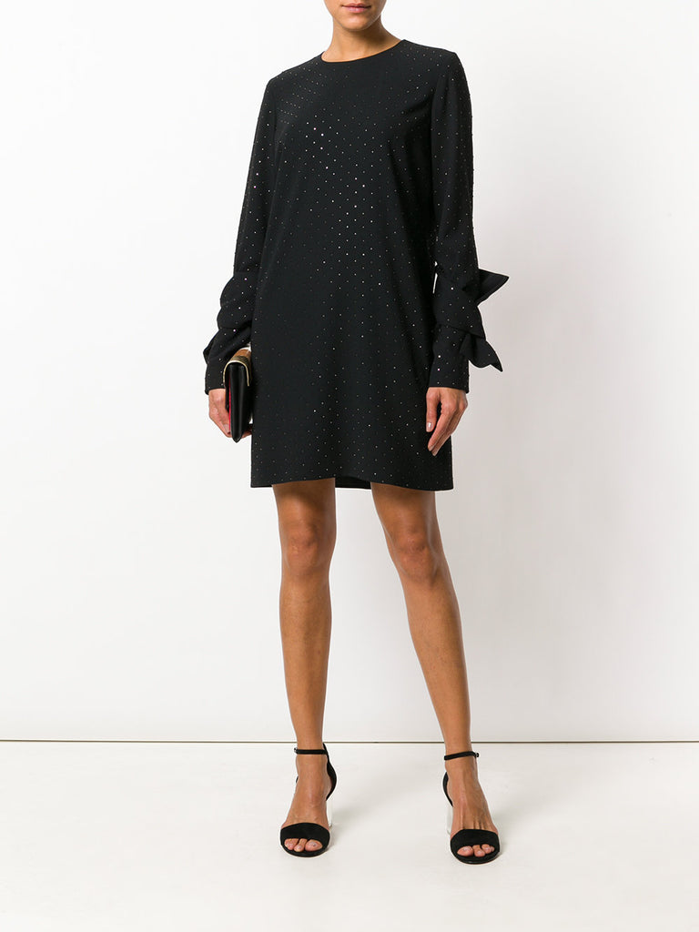 black dress with stones  from victoria beckham
