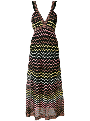 MULTI ZIG ZAG DRESS FROM M MISSONI