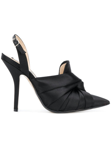 BLACK HIGH SILK STILETTO FROM Nº21