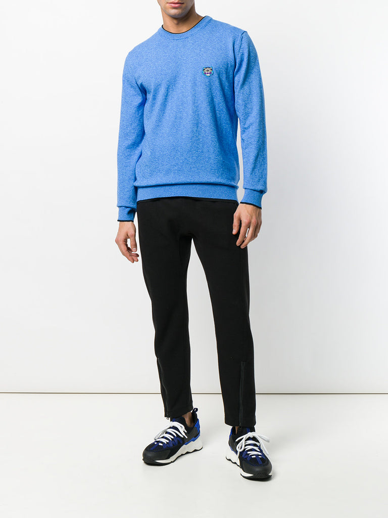 BLUE KNIT WITH SMALL TIGER FROM KENZO