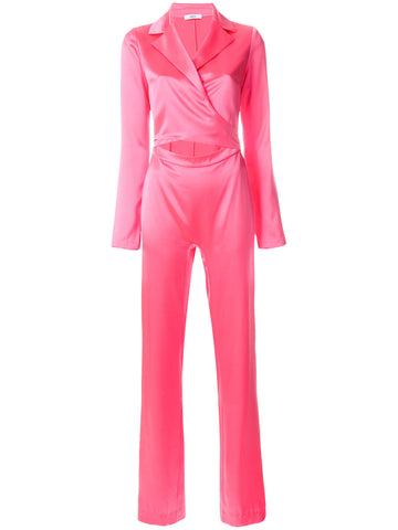 PINK SILK JUMPSUIT FROM AREA