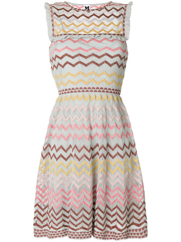 LIGHT BLUE RUFFLE DRESS FROM M MISSONI