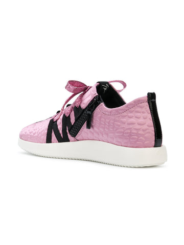 PINK RUNNER WITH LOGO BAND FROM GIUSEPPE ZANOTTI
