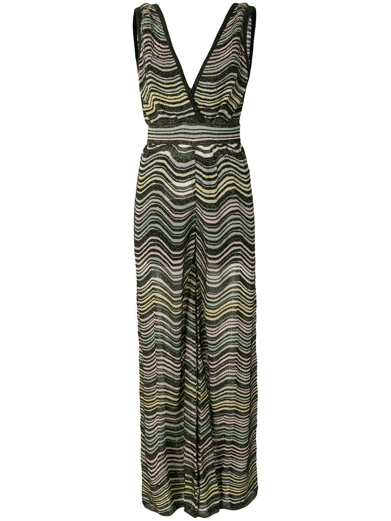 MULTI COLOURED JUMPSUIT IN GREEN FROM MISSONI