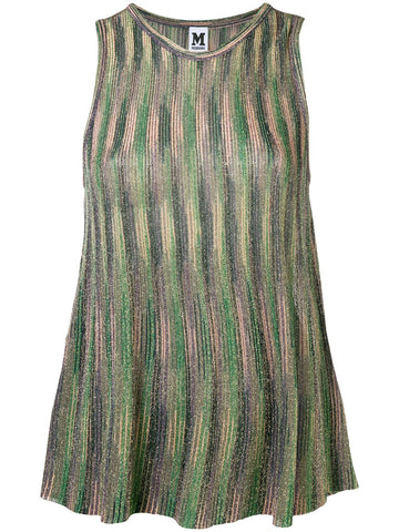 GREEN PURPLE TOP FROM MISSONI