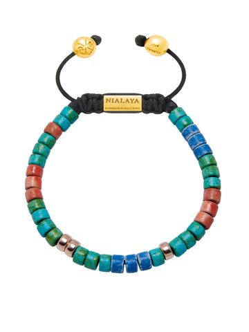 HANDMADE BRACELET MULTICOLOR FROM NIALAYA