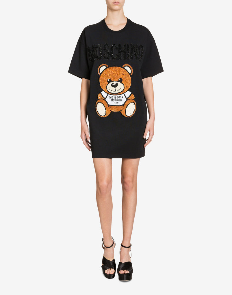 Moschino dress with teddy