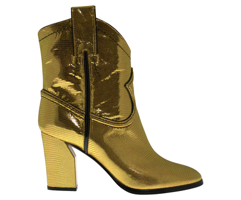 Gold boot
