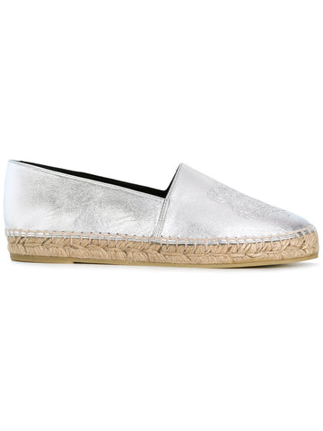 SILVER TIGER ESPADRILLES LEATHER