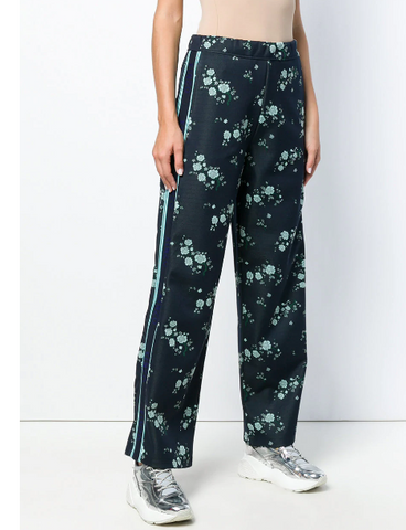 Kenzo Jogger Pants Navy Blue Flower