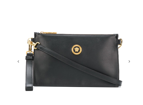 BLACK CLUTCH FROM VERSACE