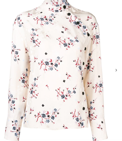 NUDE FLOWER CHINA SHIRT FROM KENZO