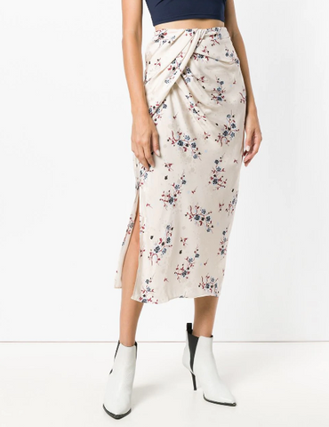 NUDE FLOWER SKIRT FROM KENZO