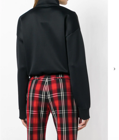 BLACK CROPPED TOP FROM KENZO