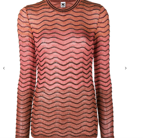 WARM ROSEGOLD KNIT FROM MISSONI