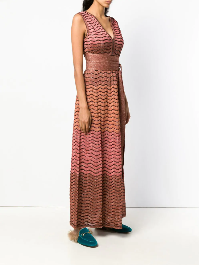 Rosegold Missoni dress