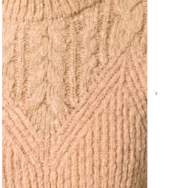 CAMEL BROWN WOOL KNIT FROM KENZO
