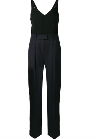NAVY AND BLACK JUMPSUIT FROM VICTORIA BECKHAM