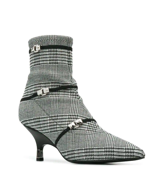 black and white stiletto boot from giuseppe zanotti