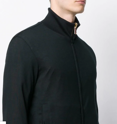 SHIRT JACKET REVERSIBLE BLACK OR BAROC FROM VERSACE