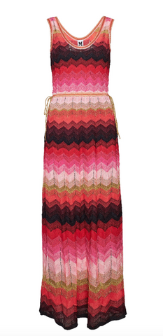 Long multicoloured  Missoni dress
