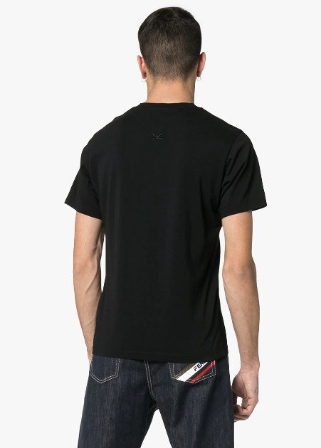 BLACK KENZO PARIS LOGO TSHIRT IN BLUE AND RED FROM KENZO