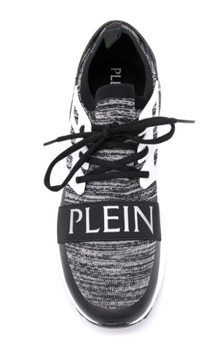 GREY AND BLACK SNEAKER FROM PHILIPP PLEIN