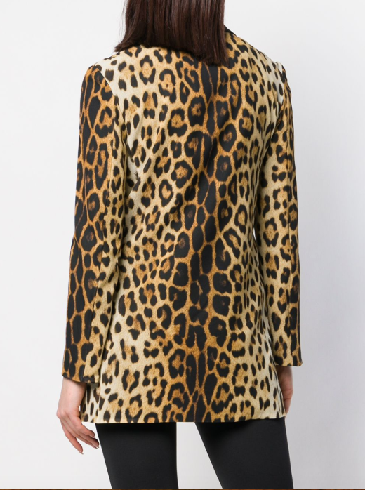 LEOPARD BLAZER FROM MOSCHINO