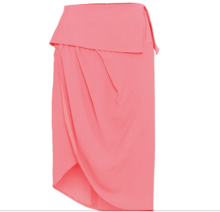 mille skirt in pink from birgitte herskind