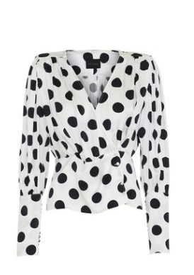 polka dot blouse from birgitte herskind