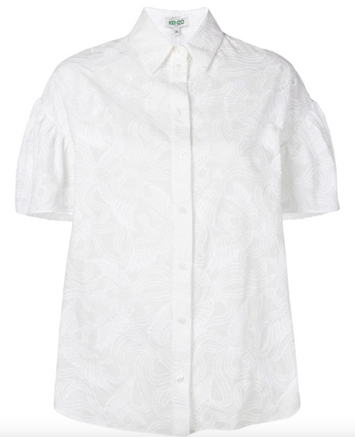White short sleeved shirt