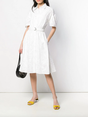White shirt dress from kenzo