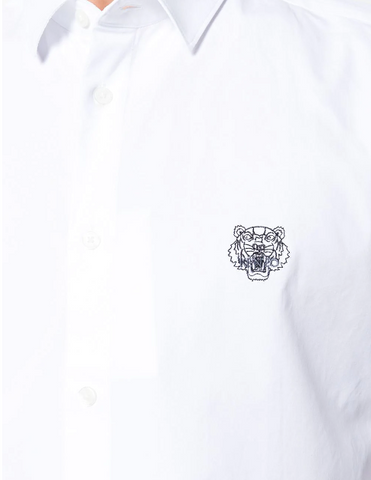 WHITE TIGER SHIRT SLIMFIT FROM KENZO