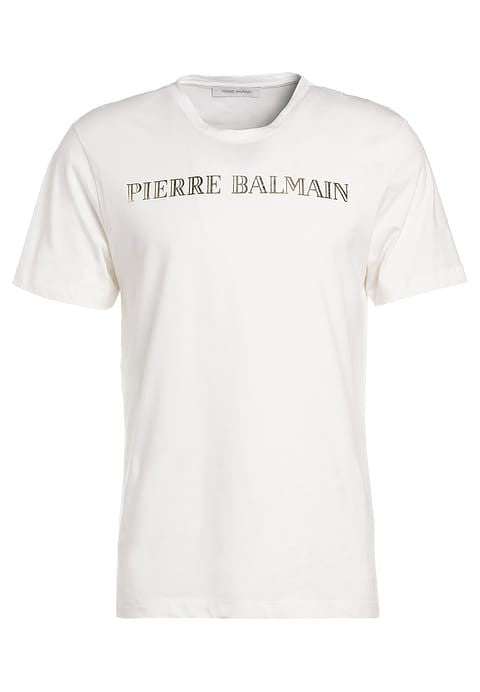 Pierre Balmain logo t-shirt in white