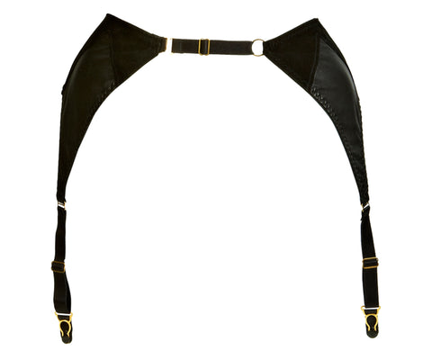 Something Wicked - Ava Leather Suspender