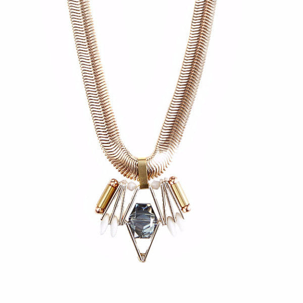 Celeste Astra Snake Chain Necklace