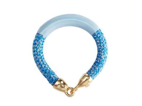 Light Blue Enamel Annabelle Bracelet