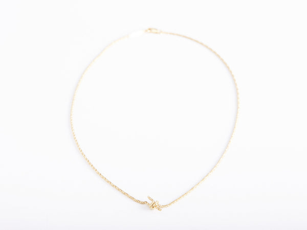Gold Knot Necklace